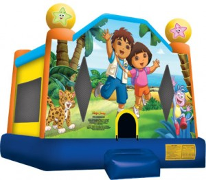 dora jumping castle hire sydney