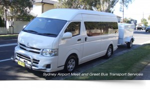 Sydney-airport-shuttle-bus-with-trailer