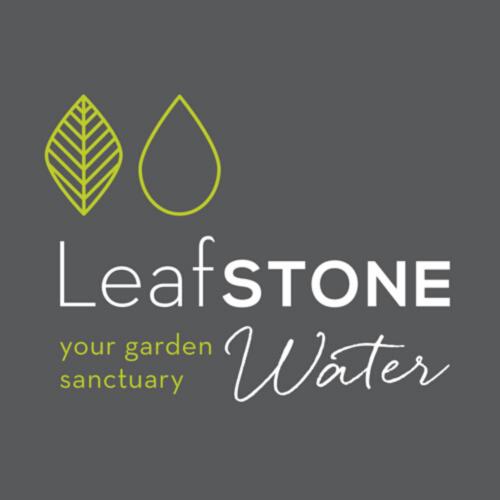 Leaf Stone Water Logo
